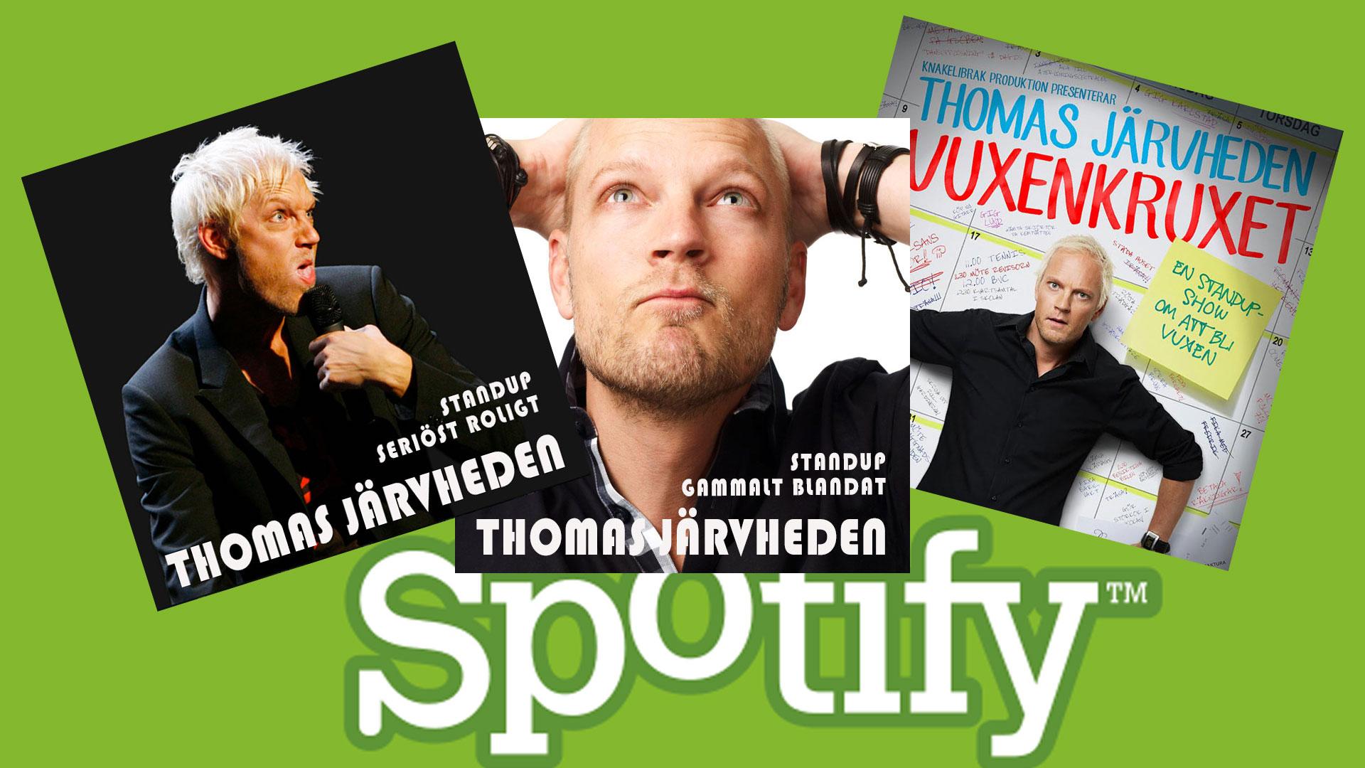 SpotifyCovers for Thomas Järvheden